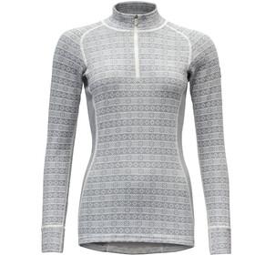 Devold Alnes Half-Zip Shirt Damen grey